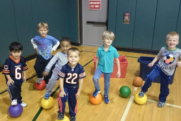 Class with Hot Shots Sports