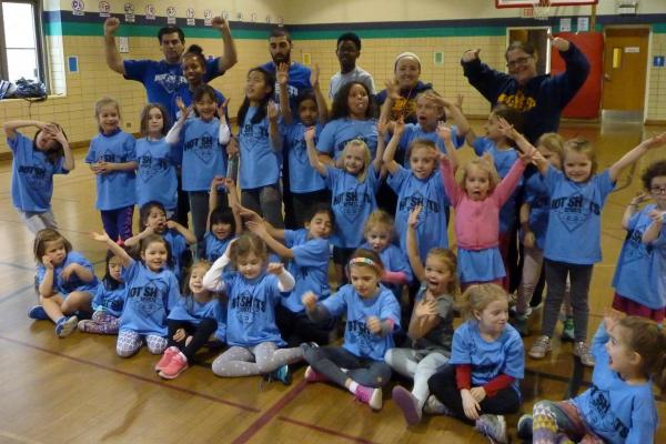 Camp Fun with Hot Shots Sports in Chicago